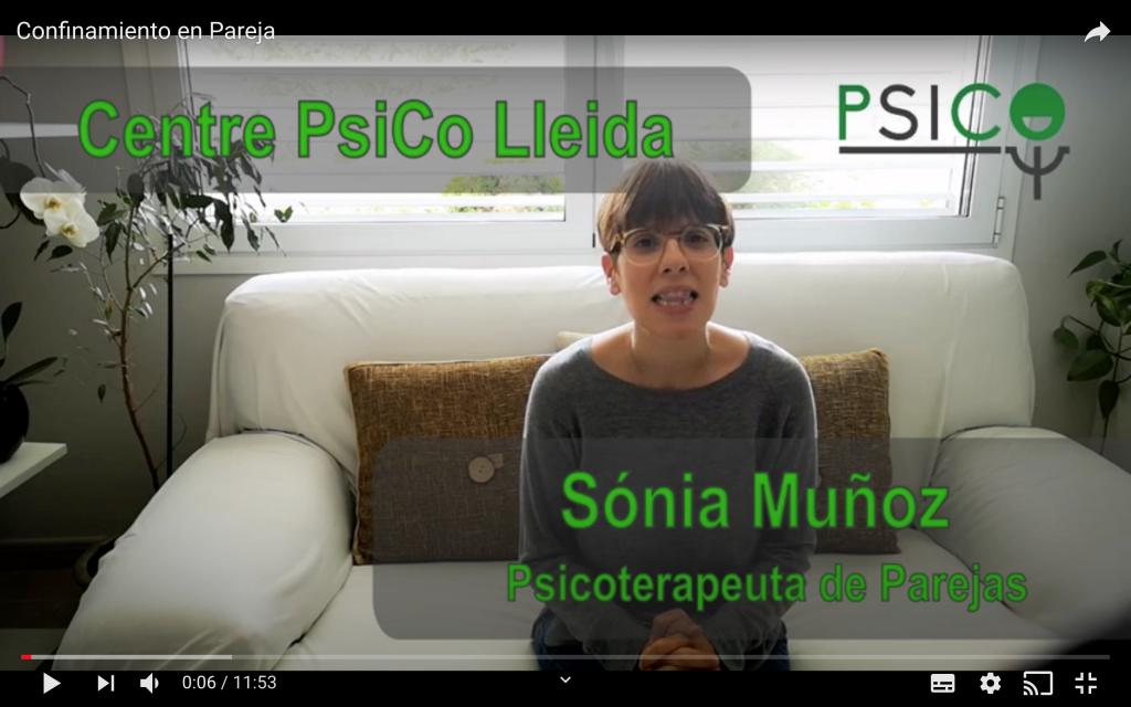 Sonia Muñoz, Psicóloga