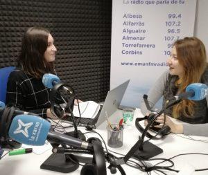 Laura Purroy y Cristina Vidal (Foto de archivo)